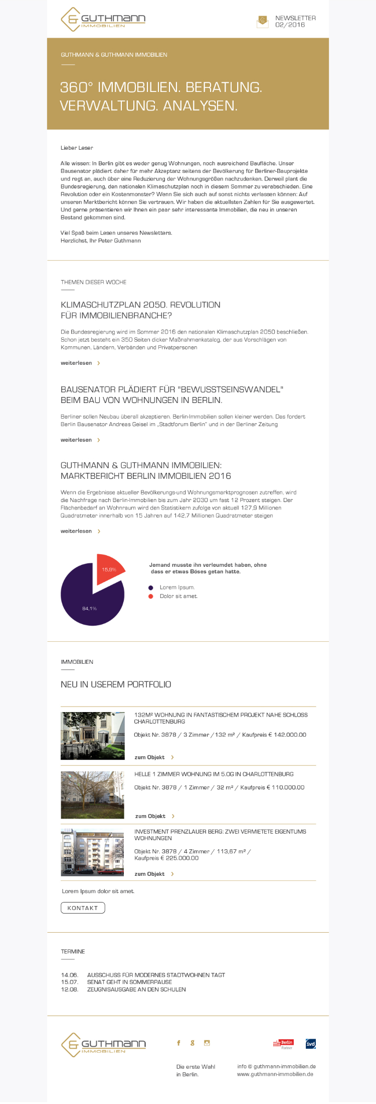 Newsletter, Design, Layout
